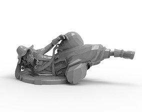 Usopp - Laying Pose 3D print model