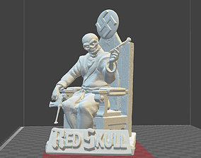 Red Skull Marvel Comics miniature model