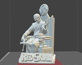 Red Skull Marvel Comics miniature model