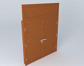 Main Brown Door 3D model