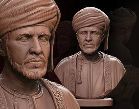 3D print model Qaboos bin Said