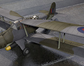 Fairey Albacore Mk-1 3D model