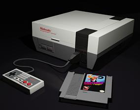 3D model NES Nintendo Entertainment System