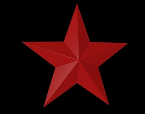 5 Point Star 3D model