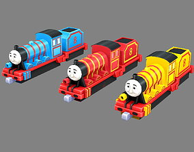Cartoon toy Thomas the Tank Engine 3D model