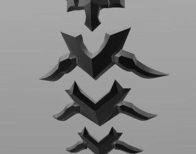 3D print model Overwatch Nevermore Reaper Spine Armor