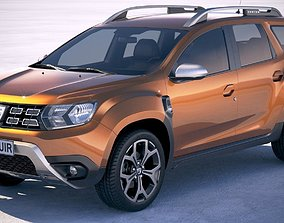 Dacia Duster 2018 3D car
