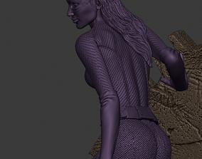 Cat women 3D print model