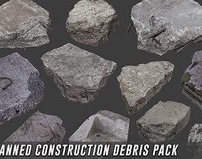 3D model Scanned Construction Debris Pack