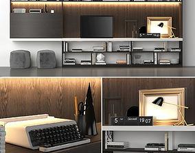 Poliform Storage wall MOLTENI C 3D