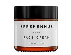 3D asset Sprekenhus Face Cream