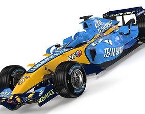 3D model F1 Renault R26 2006