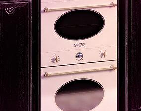 Double oven Smeg electrolux 3D