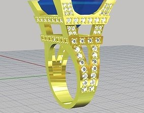 3D printable model ring women Eiffel towerx