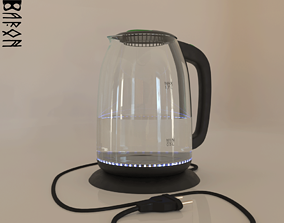3D model electric kettle without brand or name
