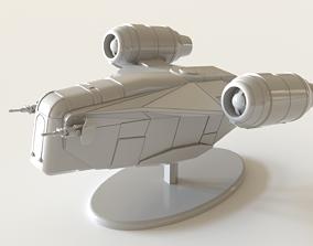 The Mandalorian Razor Crest 3D print model