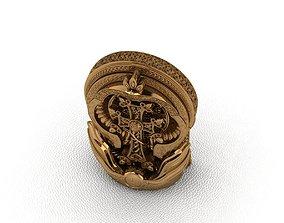 rings Royal Animal Style Ring 3D printable model