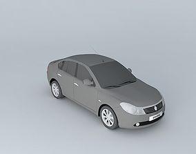 2009 Renault Symbol - Thalia v2 3D model