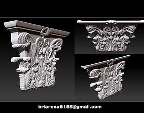 3D print model Column capital