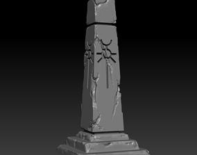 3D printable model Necron obelisk