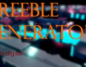 3D model Greeble generator