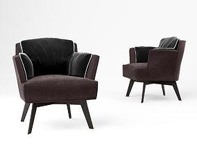 Linteloo Azzano armchair 3D model