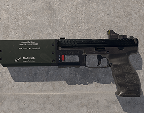 Heckler Koch SFP9 pistol 3D model