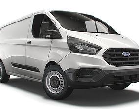 Ford Transit Custom L2H1 Leader UK spec 2020 3D model