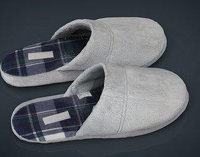 House slippers 2 3D asset