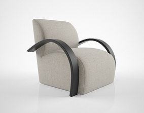J Robert Scott Hampton Armchair 3D
