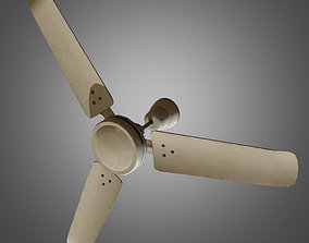 Ceiling Fan - Game Ready 3D asset