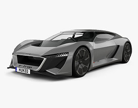 Audi PB18 e-tron 2018 3D model