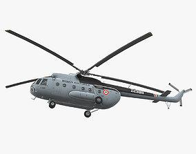 3D asset Mi-8T India Air Force