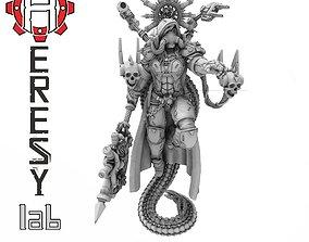 Heresylab - Female priest Domina 3D print model