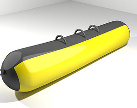 3D model Inflatable row boat - Type 3