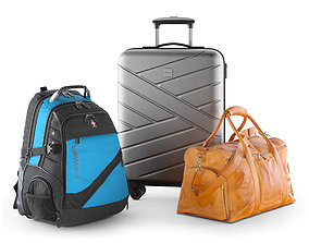 3D Travel bag set