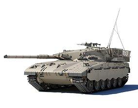 Merkava Battle Tank Mk1B 3D model