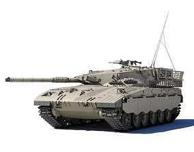 Merkava Battle Tank Mk1B 3D model