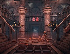 3D Underground Cathedral