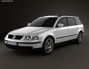 Volkswagen Passat B5 variant 1997 3D model