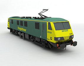 3D model Class 90 Locomotive Freightliner