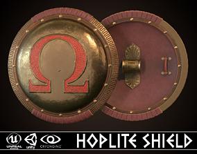 Hoplite Shield Omega 3D model realtime