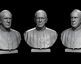 3D printable model Pope Francis