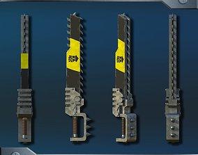 Warhammer ChainSword 3D model
