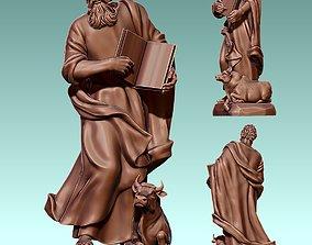 Luke Evangelist - CNC Router Carving 3D printable model