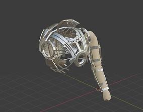 Ironman Upper Exosuit MK2 MK3 3D asset