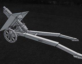 3D model Howitzer Obice da 75