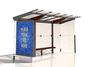 3D MMCite Regio 310b Bus Shelter