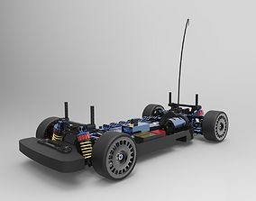 3D printable model RC Car-Tamiya TT-01