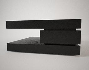 Salontatel Oakura blok c center table 3D model